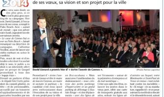 """David Lisnard : """"Ecrire une nouvelle page pour Cannes"""""""