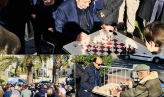 Cannes capitale du sport en plein air inaugure des nouveaux échiquiers sur la Croisette, et bientôt à BoccaCabana