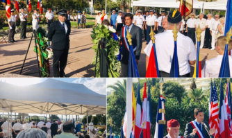 De nombreux Cannois étaient présents aux côtés de David Lisnard et d'anciens résistants vétérans de la Seconde Guerre mondiale pour commémorer l'Appel du 18 juin du Général de Gaulle