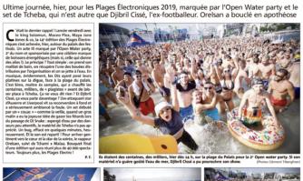 Plages électro : de l'électricité dans l'eau !