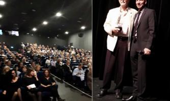 La Palme d'or de la Ville de Cannes décernée au directeur duConservatoire de musique