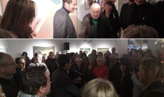 """Culture : vernissage de l'exposition """"Gérard Schlosser, Quelle histoire"""""""