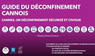 Nouvelle étape dans la gestion de la crise : David Lisnard a présenté le plan de déconfinement sécurisé et civique cannois