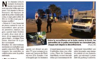A Cannes, la police a des nuits agitées !