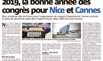 2019, la bonne année des congrès pour Nice et Cannes