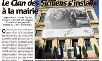 Cannes fait le mur s'installe à la mairie