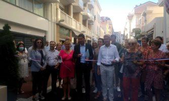 Inauguration des rues des Belges et Saint-Honoré rénovées et embellies