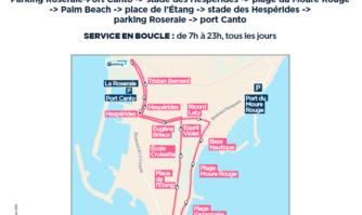 Transport : la Pointe Croisette en toute accessibilité