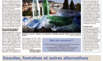 Cannes déclare la guerre aux bouteilles en plastiques