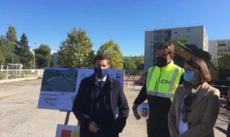 Cadre de vie : Coup d'envoi de la Nouvelle Frayère avec le parking du Caroubier