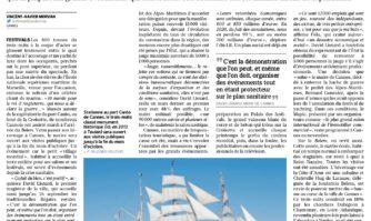 """L'arrivée du """"Belem"""" à Cannes met du baume au coeur d'une ville minée par le Covid"""
