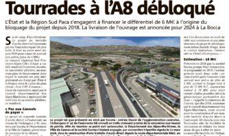 Le projet d'accès direct des Tourrades à l'A8 débloqué