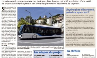 Energie verte : Cannes-Lérins va produire son hydrogène