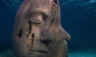 Immersion des sculptures de l'artiste Jason deCaires Taylor : l'écomusée sous-marin de Cannes s'ancre aux abords de l'île Sainte-Marguerite