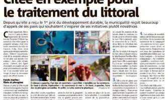 Cannes citée en exemple pour le traitement du littoral