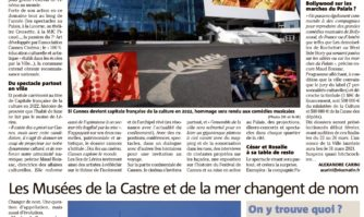 Cannes, capitale française de la culture en 2022 ?