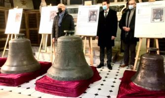 Patrimoine : Exposition des cloches restaurées de l'église Notre-Dame d'Espérance