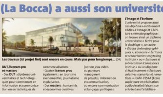 Cannes La Bocca a aussi son université !