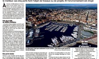 La Mairie de Cannes entretient les ports de la ville