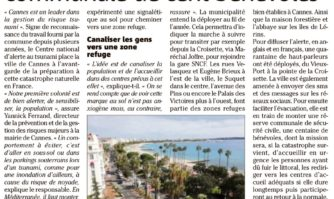 Risque tsunami : Cannes monte une réserve communale de cent bénévoles