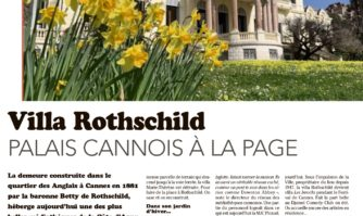 Villa Rothschlid : Palais cannois à la page