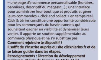 Click & Lérins : le numérique au service du tissu économique du bassin cannois