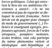 """David Lisnard : """"Je ne me contenterai pas de regarder se disloquer la société française"""""""