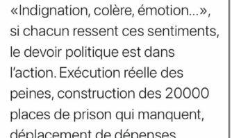 Sécurité : Réaction de David Lisnard au meurtre d'un policier à Avignon