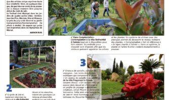 Les incroyables jardins d'artistes à Cannes-Grasse