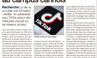 "La ""Luxury Tech"" débarque au campus cannois"