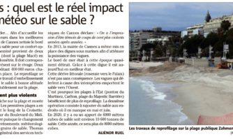 Lifting XXL pour les plages de Cannes