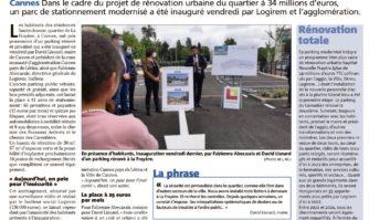 La Frayère : le parking du Caroubier rénové et privatisé