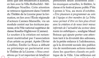 La Licorne, à Cannes : un théâtre pour les artistes et l'enfance