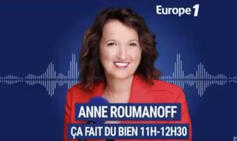 Anne Roumanoff avec David Lisnard sur Europe 1