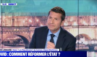 BFM TV : David Lisnard invité de Jean-Baptiste Boursier