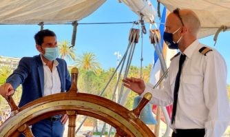 Patrimoine : Le Belem fête ses 125 ans à Cannes