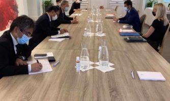 International : David Lisnard en séance de travail avec l'Ambassadeur du Japon