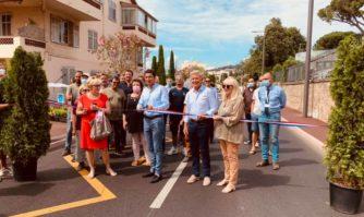 Cadre de vie : inauguration de la phase 2 de la rénovation de l'avenue de Grasse