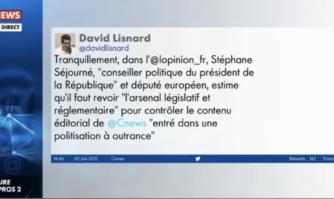 Défense de la liberté d'expression des éditorialistes : David Lisnard cité par Pascal Praud