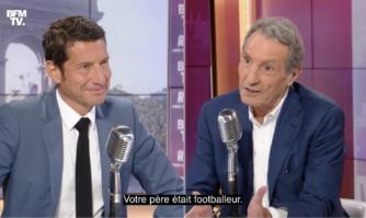 David Lisnard face à Jean-Jacques Bourdin en direct