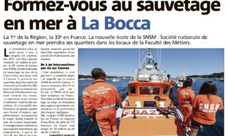 Formez-vous au sauvetage en mer à La Bocca