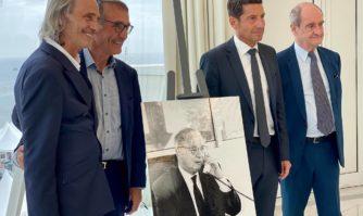 Hommage : Pierre Viot, ancien président du Festival de Cannes a désormais son salon au Palais