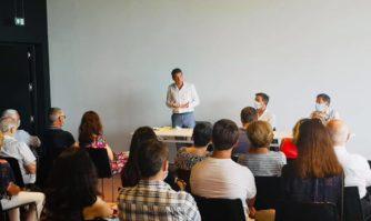 Rencontre : David Lisnard débat de l'avenir de la culture avec Xavier Bellamy en Corse