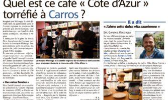 """Quel est ce café """"Côte d'Azur"""" torréfié à Carros ?"""