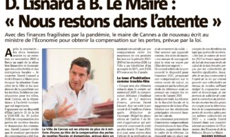 """David Lisnard à Bruno Le Maire : """"Nous restons dans l'attente"""""""