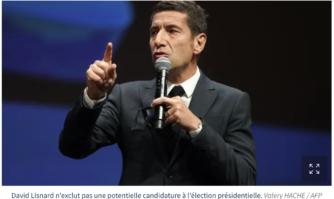 Présidentielle 2022 : David Lisnard n'exclut pas de participer à une primaire de la droite