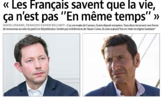"""""""Les Français savent que la vie, ça n'est pas 'En même temps'"""""""