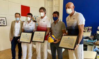 Distinction : Des Citoyens d'Honneur en or olympique