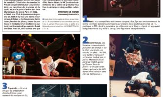 Break the floor en 5 figures acrobatiques