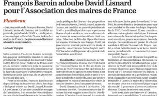François Baroin adoube David Lisnard pour l'Association des maires de France